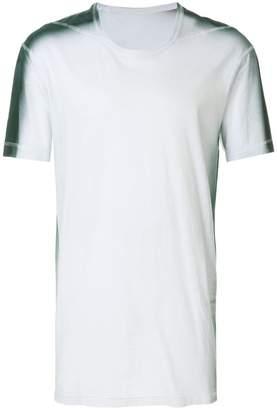 11 By Boris Bidjan Saberi elongated design T-shirt