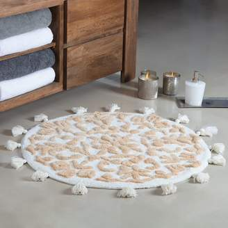 August Grove Radle Round Tufted With Tassels Bath Rug