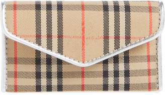 Burberry Small 1983 Check Envelope Card Case