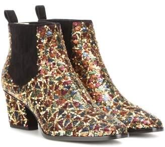 Roger Vivier Skyscraper sequin-embellished ankle boots