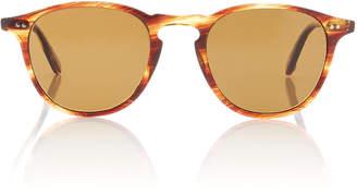 Garrett Leight Hampton 46 Round-Frame Tortoiseshell Acetate Sunglasses
