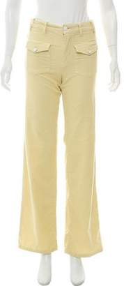 Stella McCartney Mid-Rise Corduroy Pant