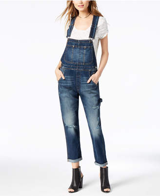 M1858 Carson Ripped Denim Overall with Double Roll Cuff, Created for Macy's