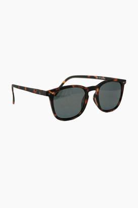 IZIPIZI Tortoise Sunglasses #D with Soft Grey Lenses
