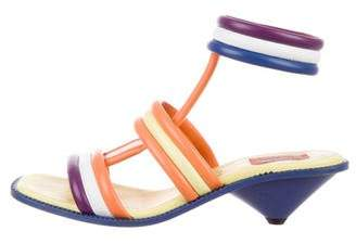 Missoni Quilted Multistrap Sandals