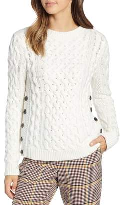 1901 Fisherwoman Crewneck Pullover Sweater
