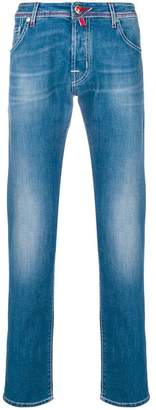Jacob Cohen straight stonewashed jeans