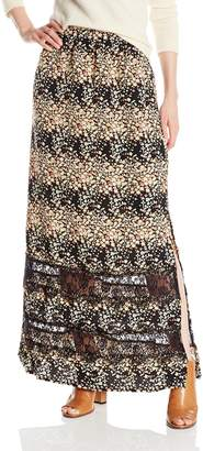 Glamorous Women's Graduated Floral Ditsy Printed Skirt