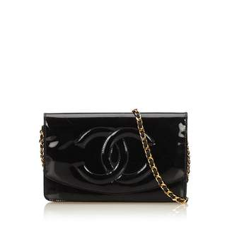 dc7417bb6014e2 at Orchard Mile · Chanel Vintage Patent Leather Wallet On Chain