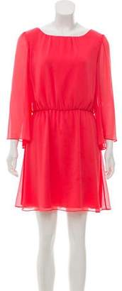 Alice + Olivia Bell Sleeve Mini Dress