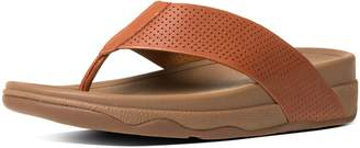 FitFlop SURFER TM Men's Leather Slide Sandals