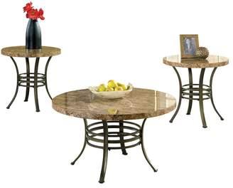 Kohl's Collison Coffee & End Table 3-piece Set