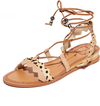 Dolce Vita Pedra Sandals $120 thestylecure.com