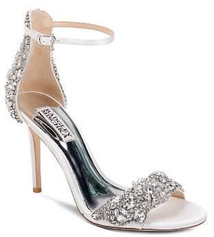 Badgley Mischka Women's Fabiana Crystal Embellished High-Heel Sandals