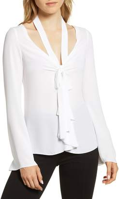 Bailey 44 Ring My Bell Tie Neck Blouse