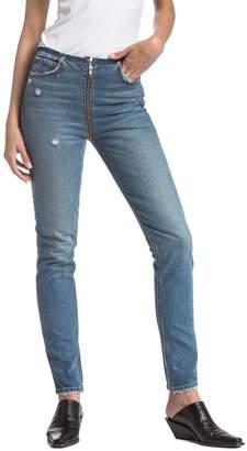 HER By BOYISH Colby High Rise Full Zip Jean
