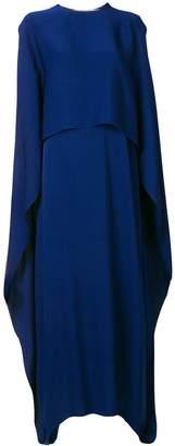Stella McCartney long cape dress