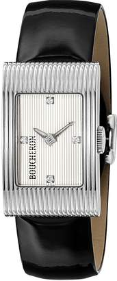 Boucheron Reflet Dial Diamond Women's Wrist Watch WA009402