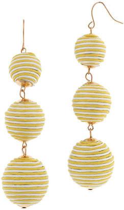 BIJOUX BAR Bijoux Bar Ball Brass Drop Earrings