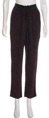 A.L.C. High-Rise Silk Pants