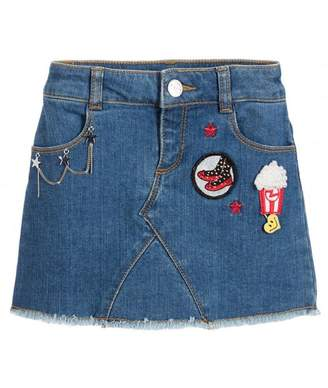 Little Marc Jacobs Popcorn Denim Skirt