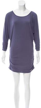 Susana Monaco Long Sleeve Ruched Top w/ Tags