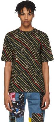 Loewe Black Paulas Ibiza Edition Flag T-Shirt