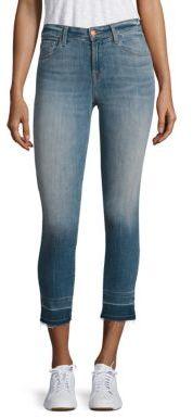 J BrandJ BRAND 835 Cropped Raw Hem Skinny Jeans/Corrupted
