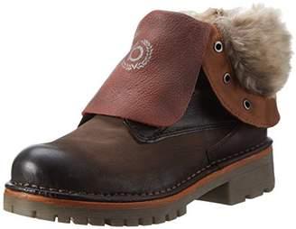 Bugatti Women's J85315G Ankle Boots, Brown (d ́Braun/Rot 626)