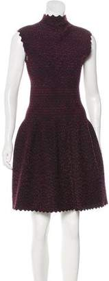 Alaia Knit Fit and Flare Dress