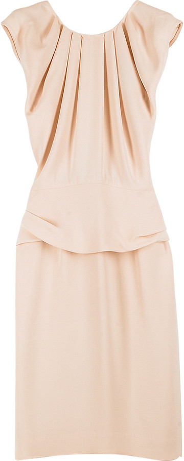 3.1 Phillip Lim Silk pleated sleeveless dress
