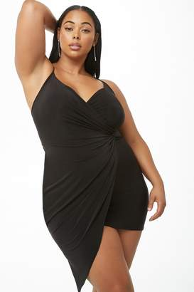 Forever 21 Plus Size Knotted Mini Dress