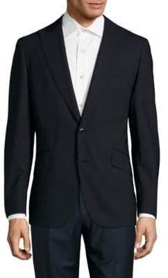 Robert Graham Solid Wool-Blend Jacket