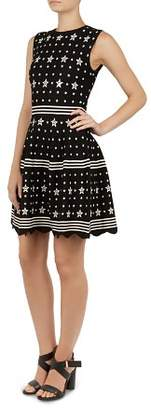Ted Baker Mariae Star Knit Dress
