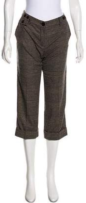 Max Mara Weekend Wool Plaid Capris