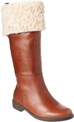 Taryn Rose Avis Leather Tall Boot