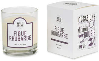 LaBelle Meche Fig Rhubarb Scented Candle, 190 g