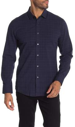 Vince Camuto Plaid Long Sleeve Casual Fit Shirt