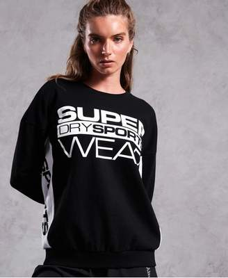 Superdry Sportswear Street Crew Neck Sweater
