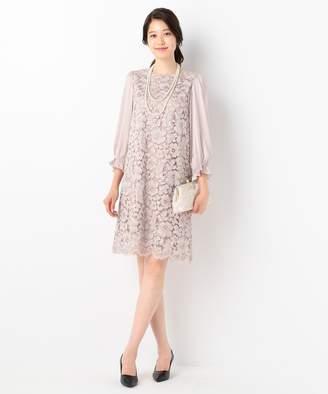 Kumikyoku (組曲) - 組曲 【結婚式やパーティに】フラワーコードレース ドレス(C)FDB