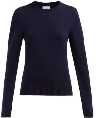 Barrie Arran Pop Cashmere Blend Sweater - Womens - Navy