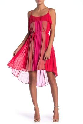 Adelyn Rae Pepper Pleated Dress