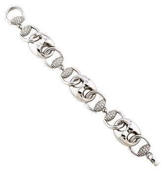 Gucci Diamond Marine & Horsebit Bracelet