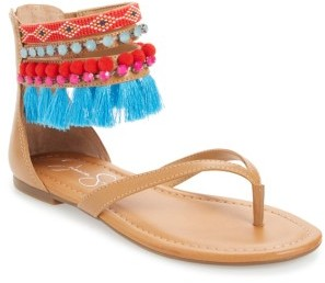 Women's Jessica Simpson Raquelle Embellished Sandal $78.95 thestylecure.com