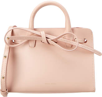 Mansur Gavriel Sun Mini Leather Tote