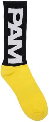 Perks And Mini Pam Pam Btc Unisex Cotton Blend Socks