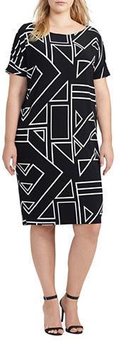 Lauren Ralph LaurenLauren Ralph Lauren Plus Geometric-Printed Dress