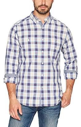 Nautica Men's Long Sleeve Chambray Button Down Shirt