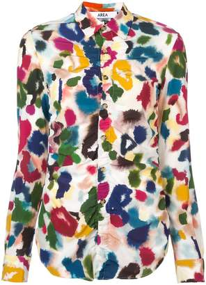 Area fiore printed shirt