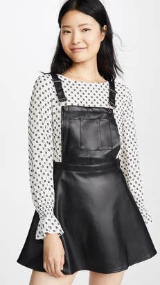 BB Dakota Jack By Pinafore Your Love Faux Leather Dress